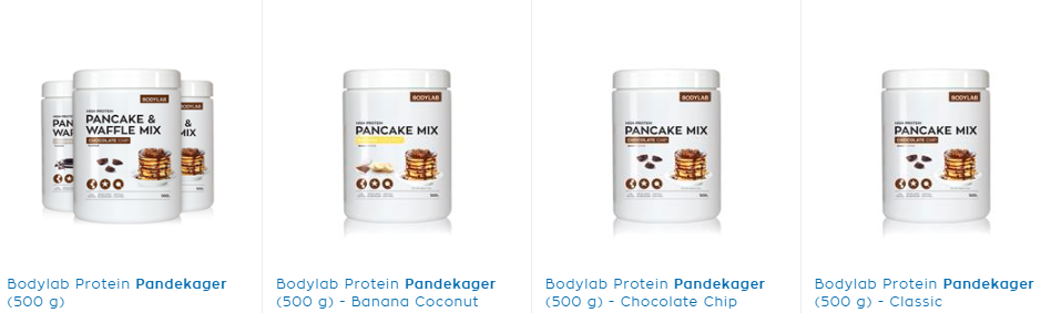 Nemme Protein pandekager